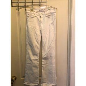 Joe's Jeans White Bootcut Size 26 Provocateur